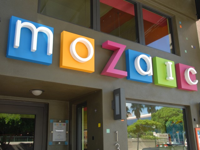 Dimensional Letters for Mozaic Restaurant. CLICK HERE to return to main portfolio page.