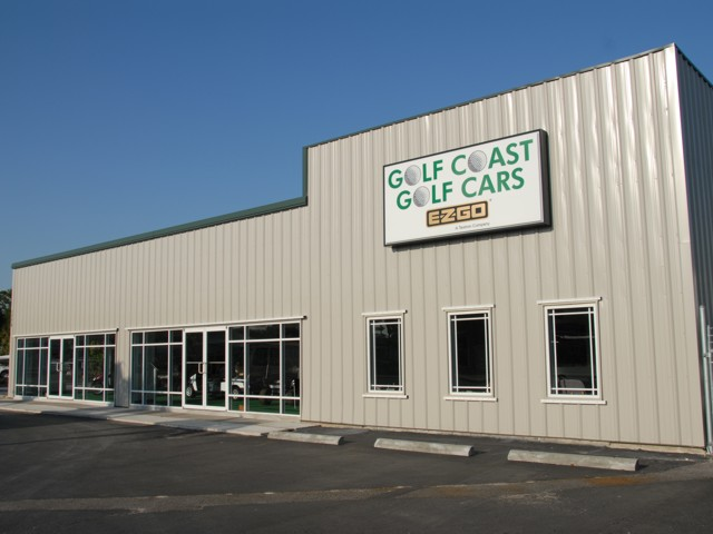 Illuminated Cabinet Sign for Golf Coast Golf Cars. CLICK HERE to return to main portfolio page.