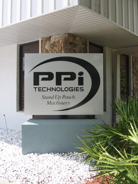 Monument Sign for PPI Technologies. CLICK HERE to return to main portfolio page.