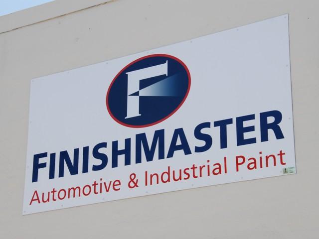 Non-Illuminated Wall Sign for FinishMaster. CLICK HERE to return to main portfolio page.
