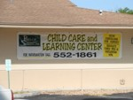 Banner for Pines of Sarasota Child Care and Learning Center. CLICK HERE to see this photo full size.