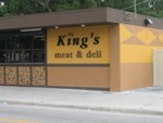 Dimensional Letters for King's Meat & Deli. CLICK HERE to see this photo full size.