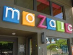 Dimensional Letters for Mozaic Restaurant. CLICK HERE to see this photo full size.