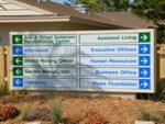 Monument Sign for Pines of Sarasota. CLICK HERE to see this photo full size.