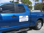 Vehicle Magnet for JPS Logistics LLC. CLICK HERE to see this photo full size.